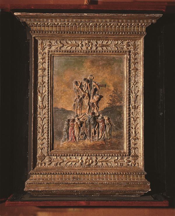 米开朗基罗,《耶稣下十字架》